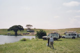 The other safaris had box lunches -- we had china, cutlery and hot food -- A class act