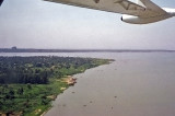 Flying over Lake Victoria