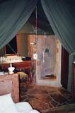 Luxurious walk-in shower
