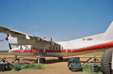Our plane to Nairobi, it's a regularily scheduled flight
