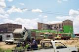 Driving north of Nairobi