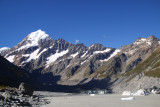 Mount Cook from Hooker glacier lake