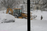 Second day snow removal
