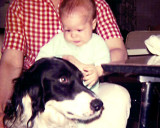 Me as a baby with  Doc III
