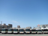 Golden Gate Transit Bus Parking Lot