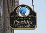 Psychics Sign at Baldichen Inn