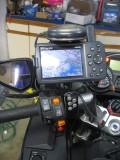 GPS with weather radar