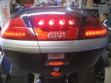 Givi with my own LED brake light kit added