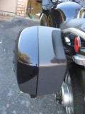 Left rear saddlebag, flash off 2010 C14