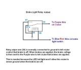 Brake relay diagram