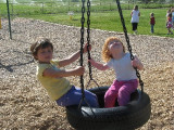 Monnie's granddaughters Faith & Claire  #2