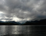CLOUDS OVER LAKE LURE