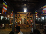 inside temple ceremony