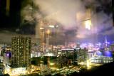 Hong Kong night and Reflection