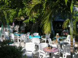 A Cute cafeteria at the Key West Old Town