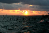Sunset at the southernmost point