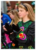 Dancing Beauty at the St. Pats Parade