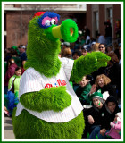 2009 Philly Phanatic at the St. Pats Day Parade