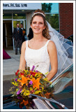 The Bride and Her Flowers