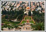 B'hai Gardens & Temple Overlooking the City