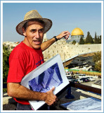 On the other Side of the Kotel is the Temple on the Mount,