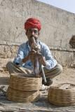 Jaipur, snake charmer