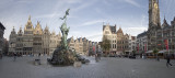 Antwerp, Old Town, panorama