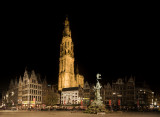 antwerp, Cathedral of our Lady, panorama