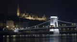 Budapest, palace & Chain Bridge