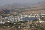 pushkar, view from Ratnagiri Hill
