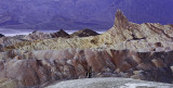 panorama. Death Valley, Zabriskie Point