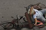yogyakarta, bike taxi