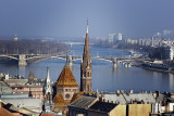 Budapest, from Castle Hill