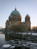 berlin, cathedral and Spree River