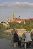 krakow, sunset chess matches