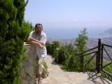 Hill overlooking Alanya