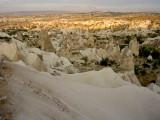 Miraculous scape of Cappadocia
