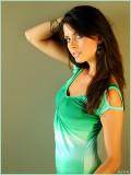Green Dress, Window Light
