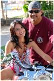 Hawaiian Biker  Babe