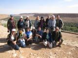 The Swiss team of the Moroccian birding tour - Le groupe du voyage ornithologique au Maroc