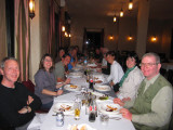 Meal with the group Ouarzazate