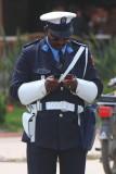 Very busy police man