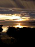 A sunset in the Banya Bay - Puesta de sol en el Delte del Ebro - Posta de sol a la Bahia del Alfacs