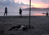 Manuel Antonio beach at sunset III