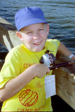 1996-David at the Cub Scout Fishing Tournament
