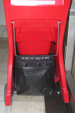 On the back of a stroller in Lenox Mall, Atlanta.