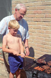 1994 - Robert Shows Early Interest in Barbeque