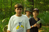 1994 - Grant, Richard and Jack on Scout Campout