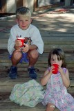1994 - David and Cousin Kasey in Oregon