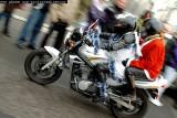 Santas on motorbikes (2009)